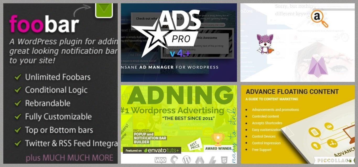 wordpress advertising