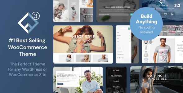 WordPress and WooCommerce theme